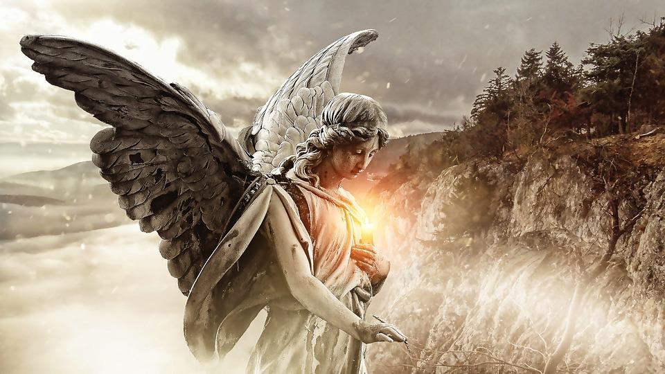 Meine Fantasywesen: Engel