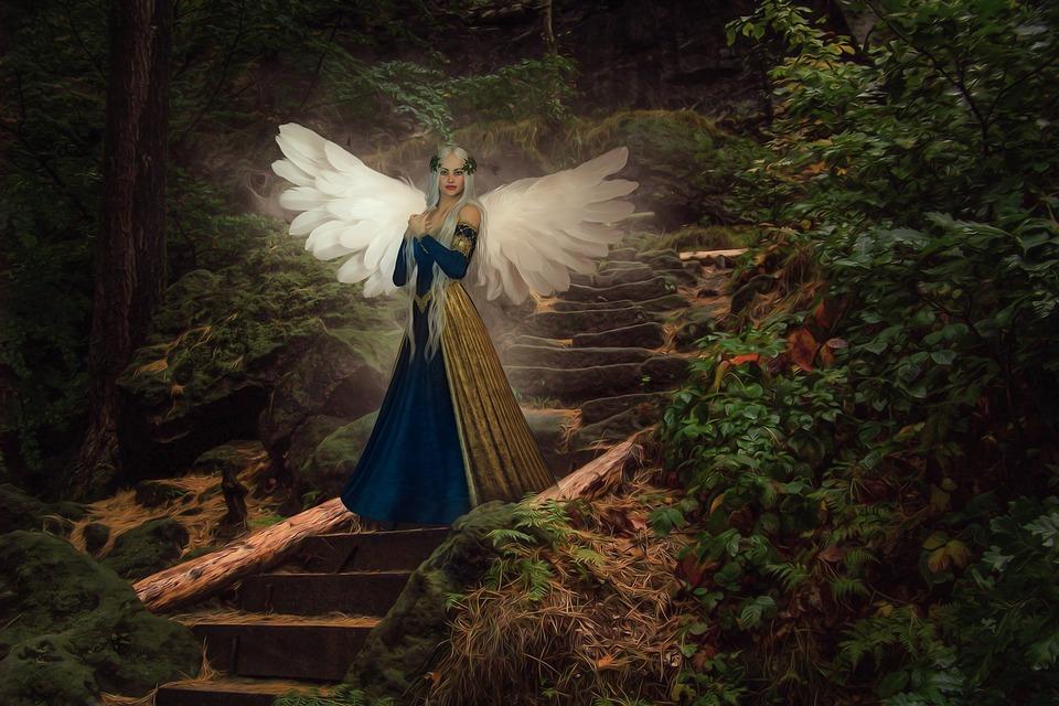 Meine Fantasywesen: Elfen