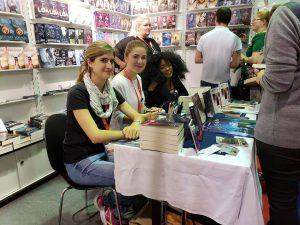 Signierstunde auf der Frankfurter Buchmesse
